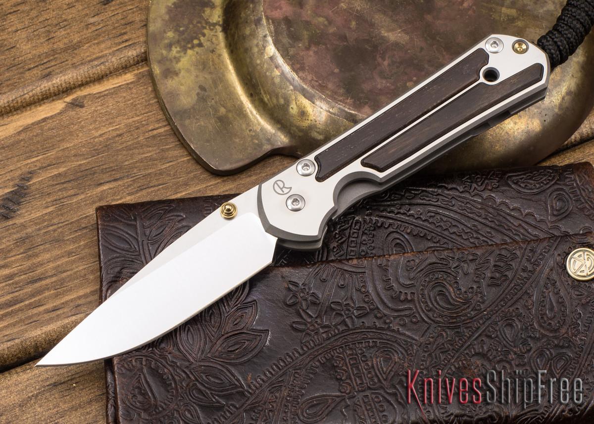 Chris Reeve Knives: Small Sebenza 21 - Macassar Ebony - 041309 primary image