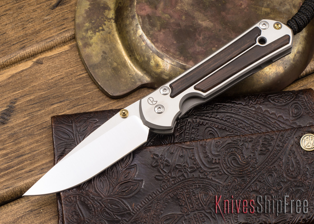 Chris Reeve Knives: Small Sebenza 21 - Macassar Ebony - 041311 primary image