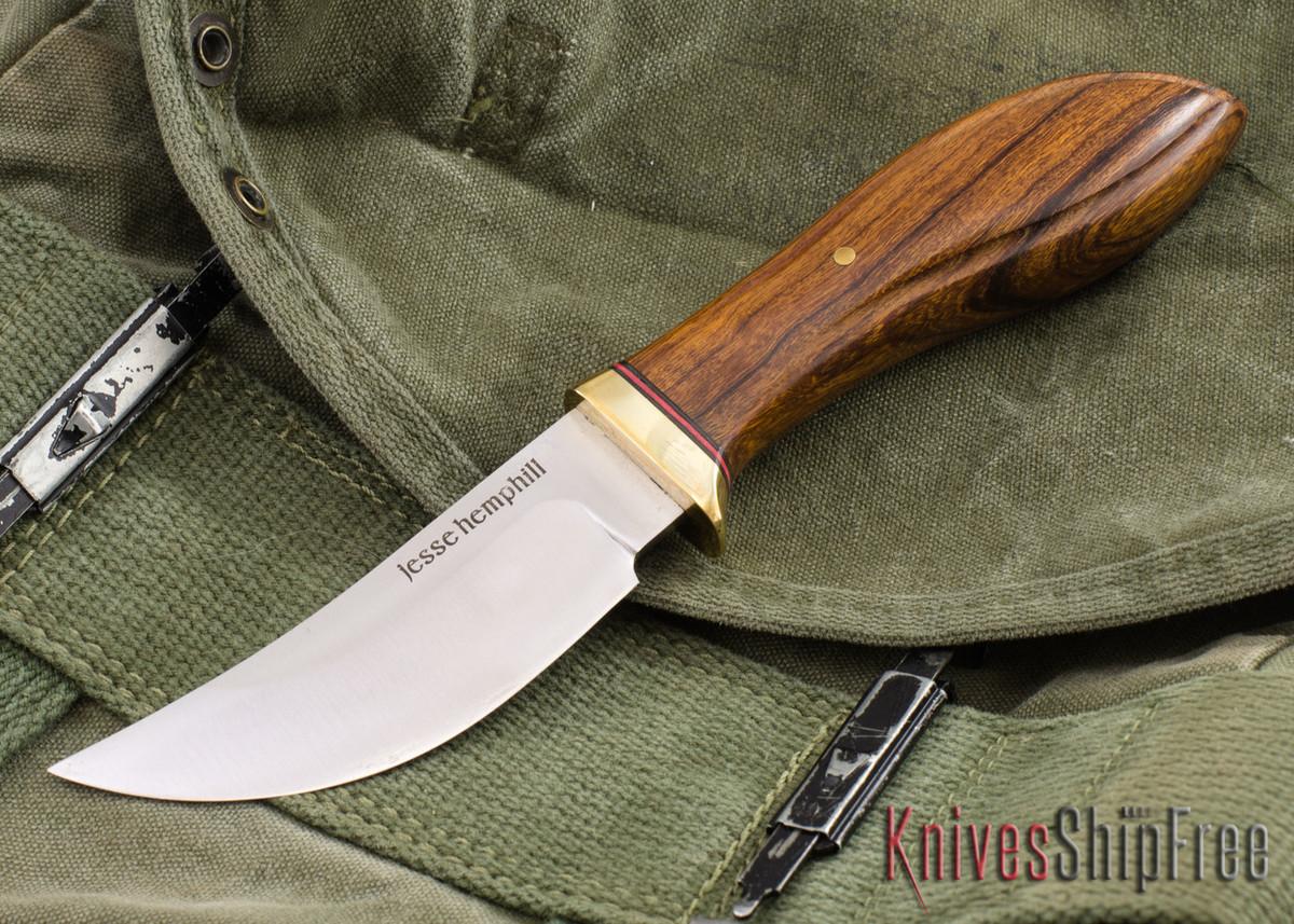 Jesse Hemphill Knives: DeKalb Series - High Falls - Desert Ironwood #9 primary image