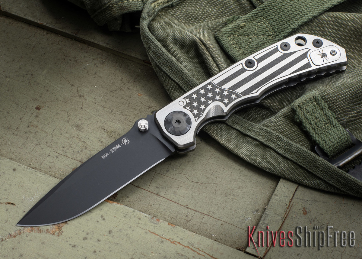 Spartan Blades: Harsey Folder - 2018 Special Edition - U.S. Flag primary image