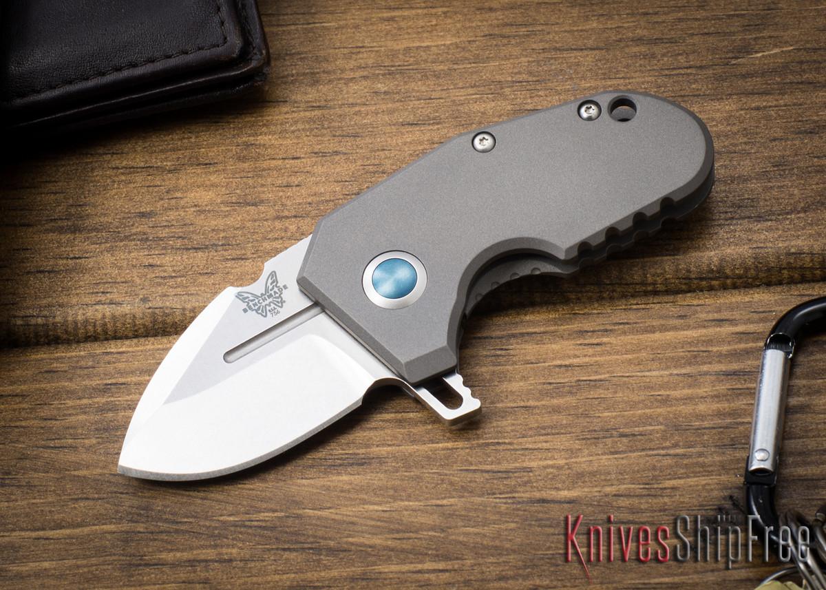 Benchmade Knives: 756 mPR - Micro Pocket Rocket - Sibert Design - Titanium Monolock Flipper - CPM 20CV primary image