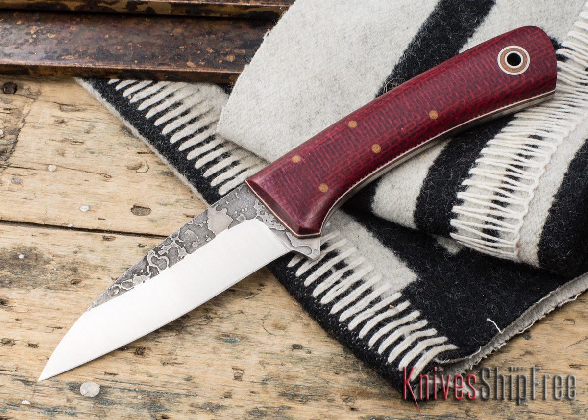 Fiddleback Forge: Reaper - Ruby Burlap - Natural & White Liners primary image