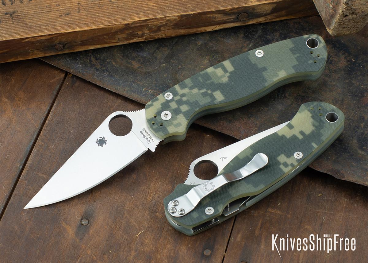 Spyderco: Paramilitary 2 - Digi Camo G-10 - CPM-S45VN - C81GPCMO2 primary image