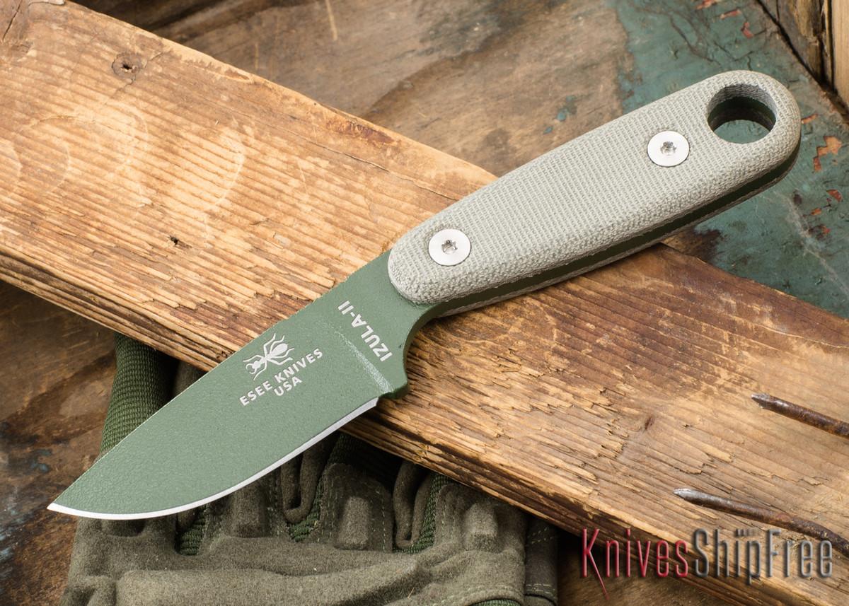 ESEE Knives: Izula II - Neck Knife - Olive Drab primary image