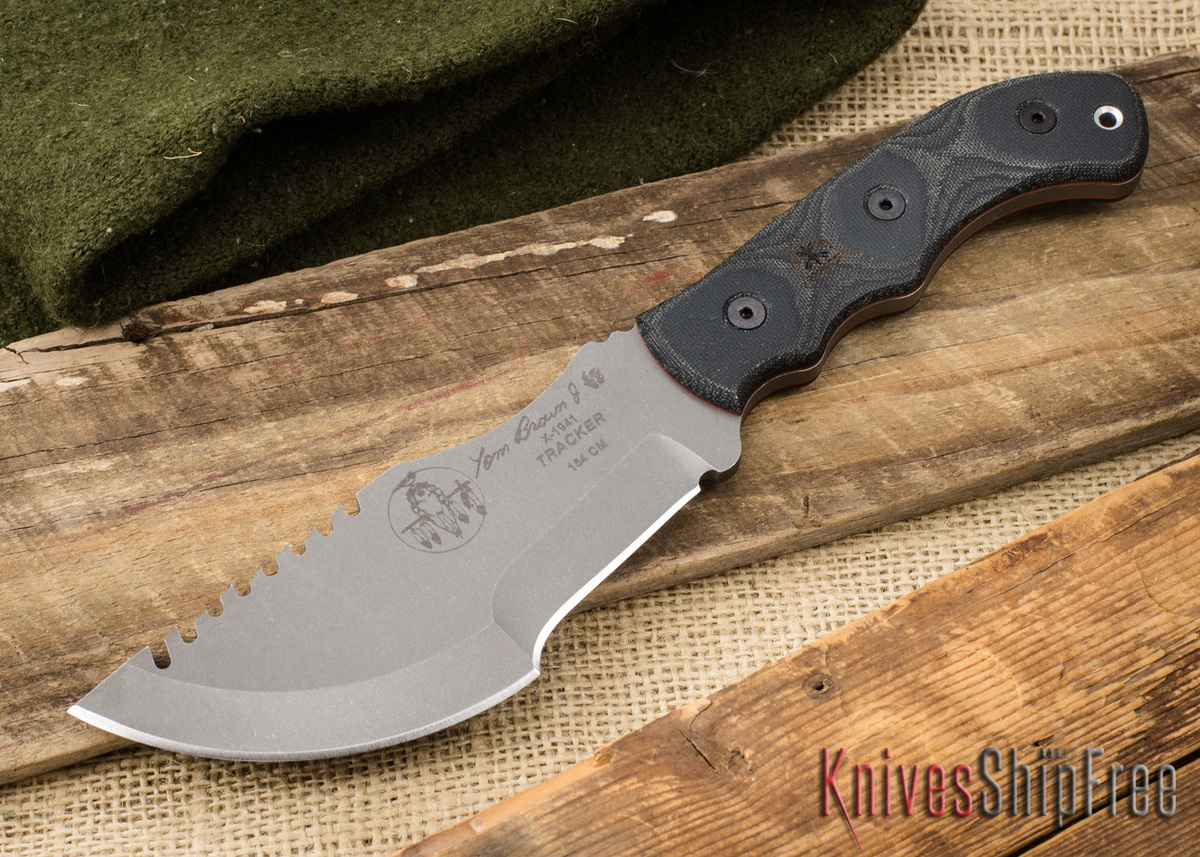 TOPS Knives: Tom Brown Tracker #3 - Tumbled Finish primary image