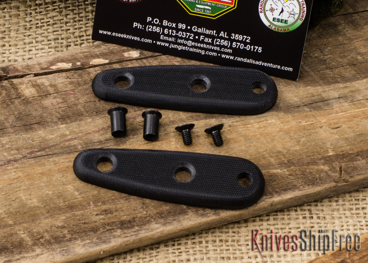 ESEE Knives: Izula Scales - Black G-10 primary image