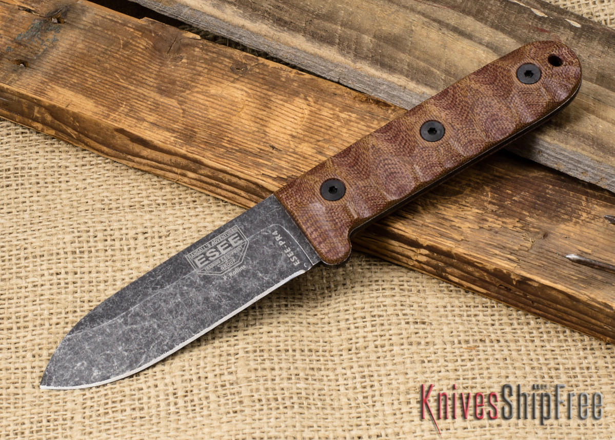 ESEE Knives: Camp-Lore PR4 - Black Oxide Finish primary image