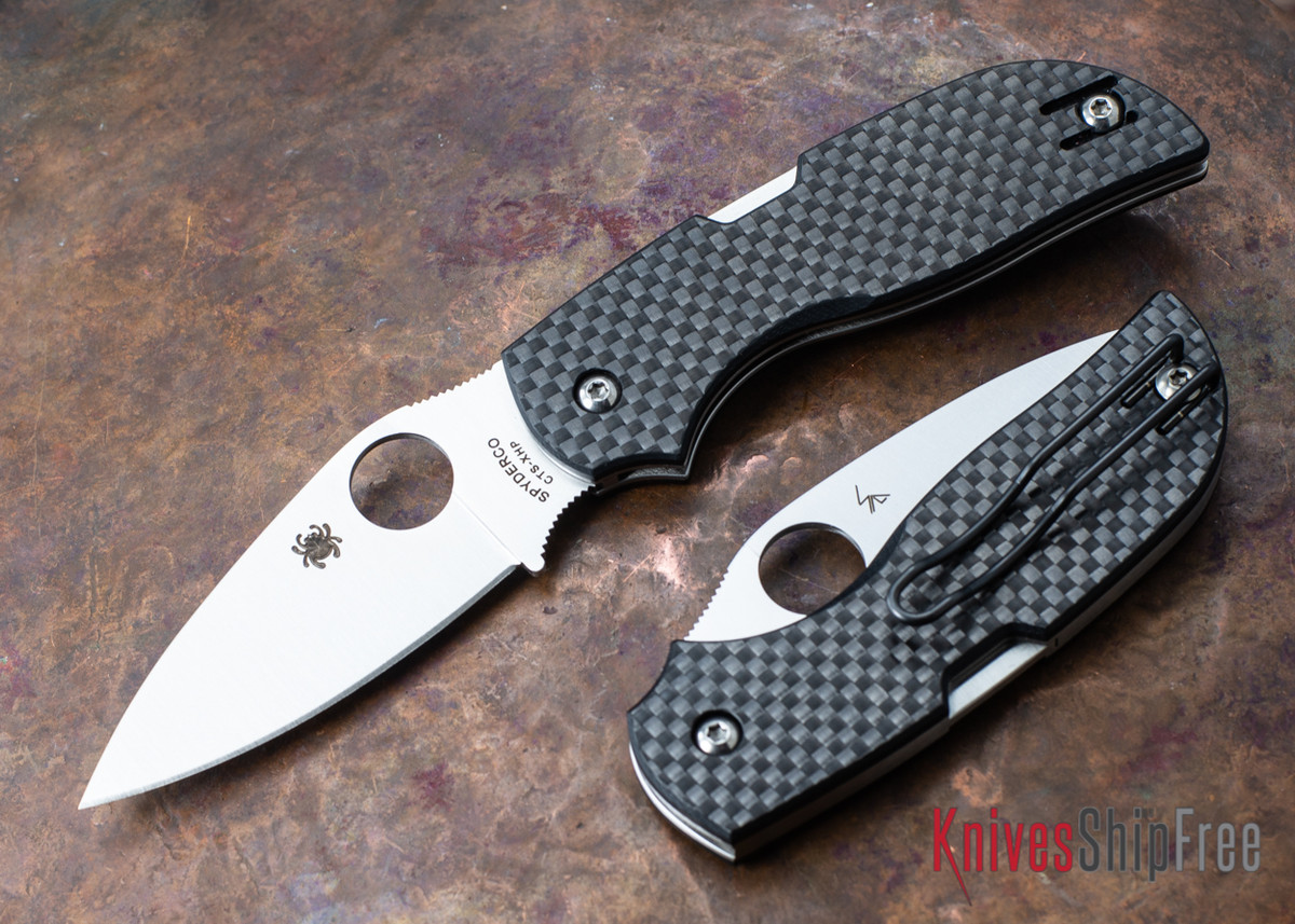 Spyderco: Chaparral - Textured Carbon Fiber / G-10  - CTS-XHP - C152CFP primary image