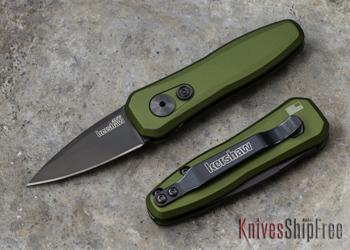 Kershaw Knives: Launch 4 - OD Green - Black Blade - 7500OLBLK primary image