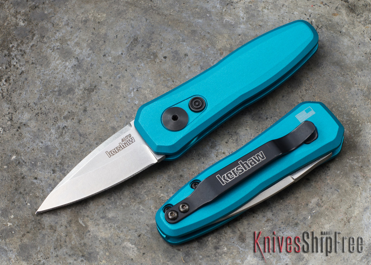 Kershaw Knives: Launch 4 - Teal - Stonewashed - 7500TEALSW primary image