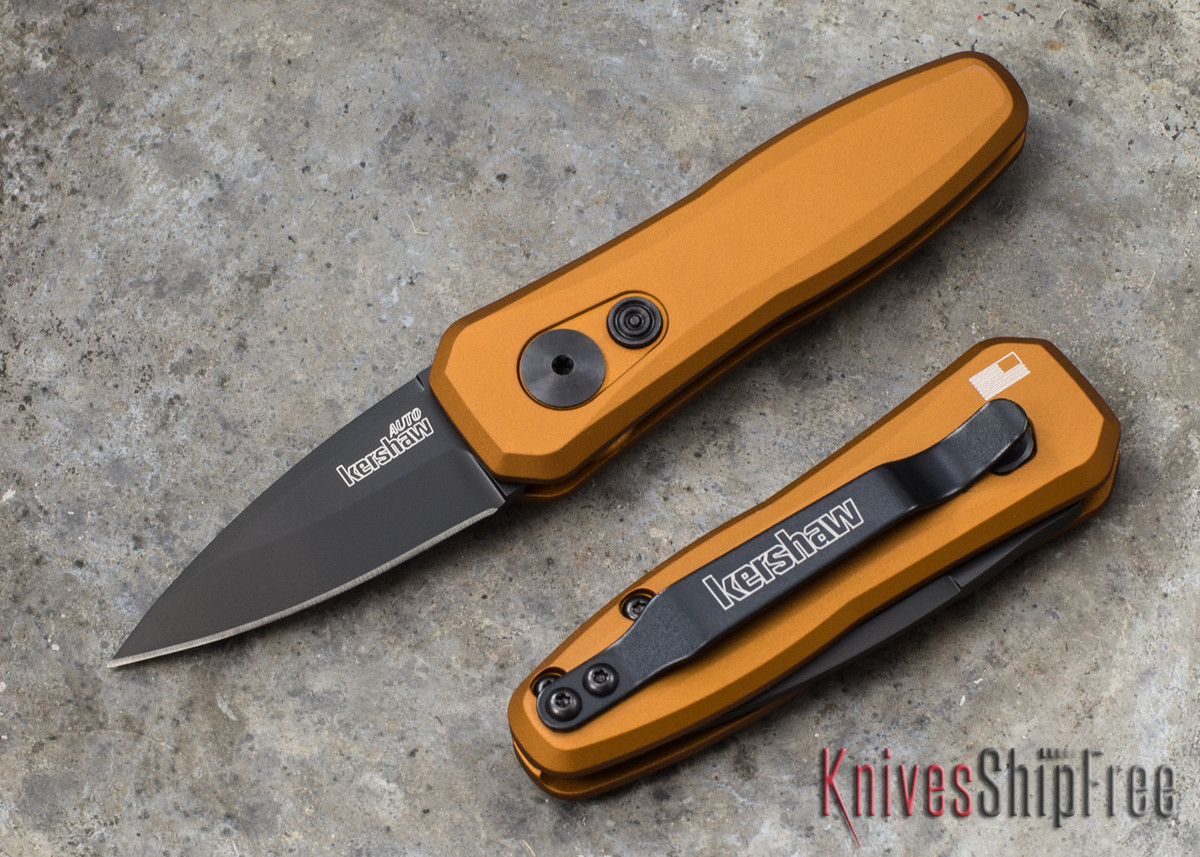 Kershaw Knives: Launch 4 - Earth Brown - Black Blade - 7500EBBLK primary image