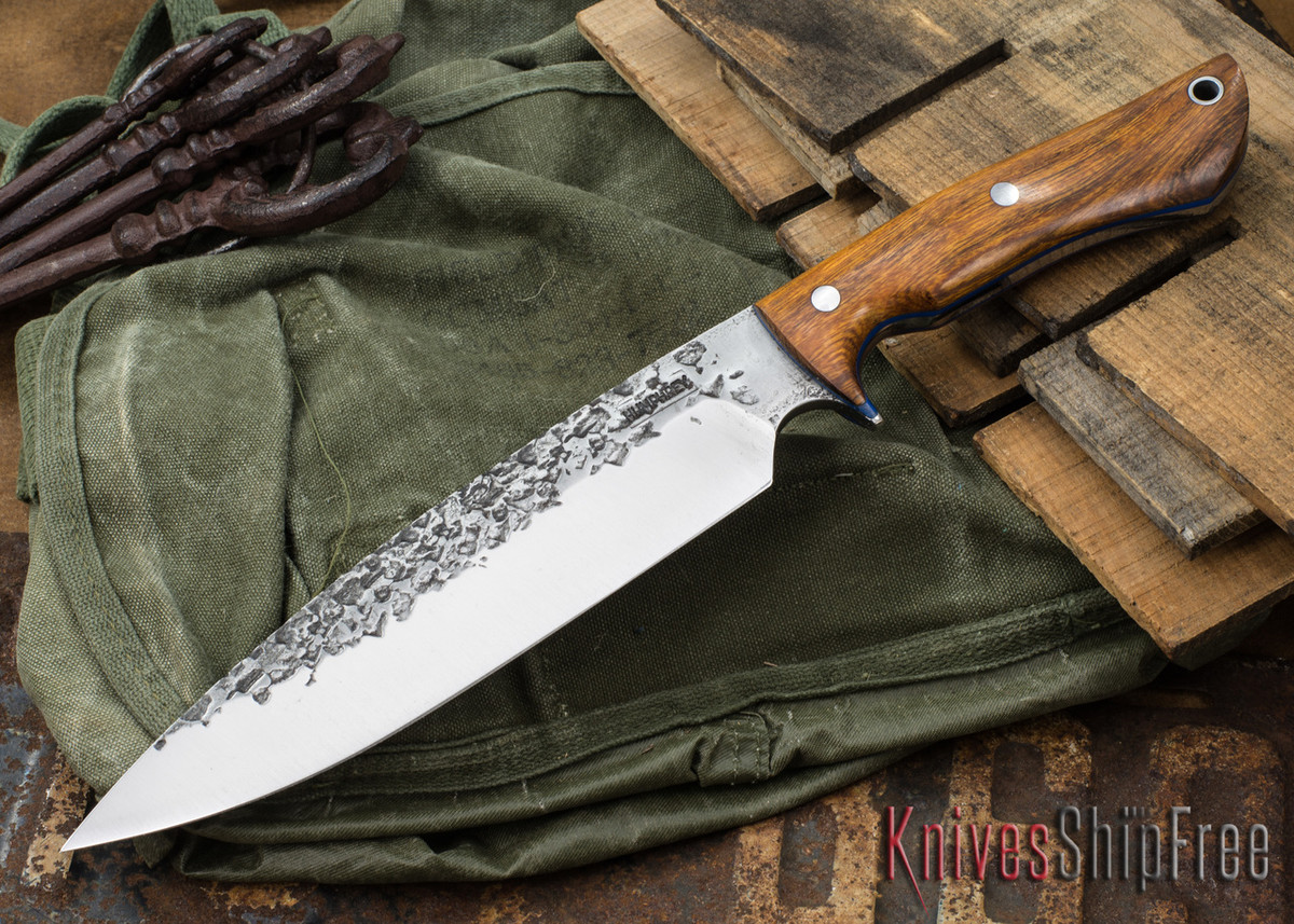 Lon Humphrey Knives: Ranger - Desert Ironwood - Blue Liners - 057 primary image