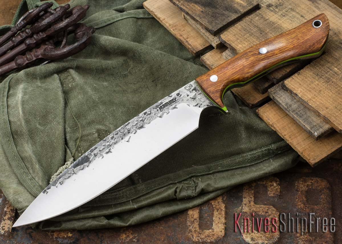 Lon Humphrey Knives: Ranger - Desert Ironwood - Lime Green Liners - 063 primary image