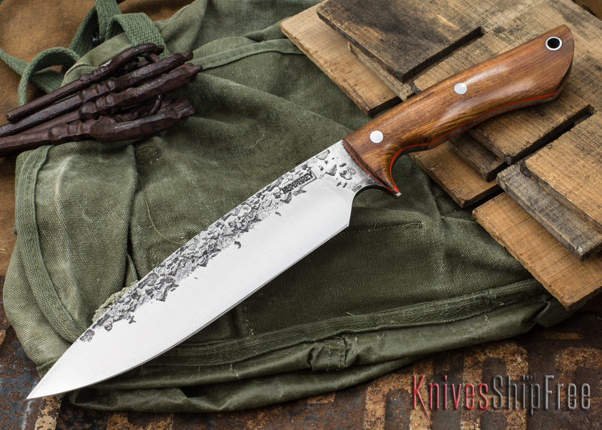 Lon Humphrey Knives: Ranger - Desert Ironwood - Orange Liners - 070 primary image
