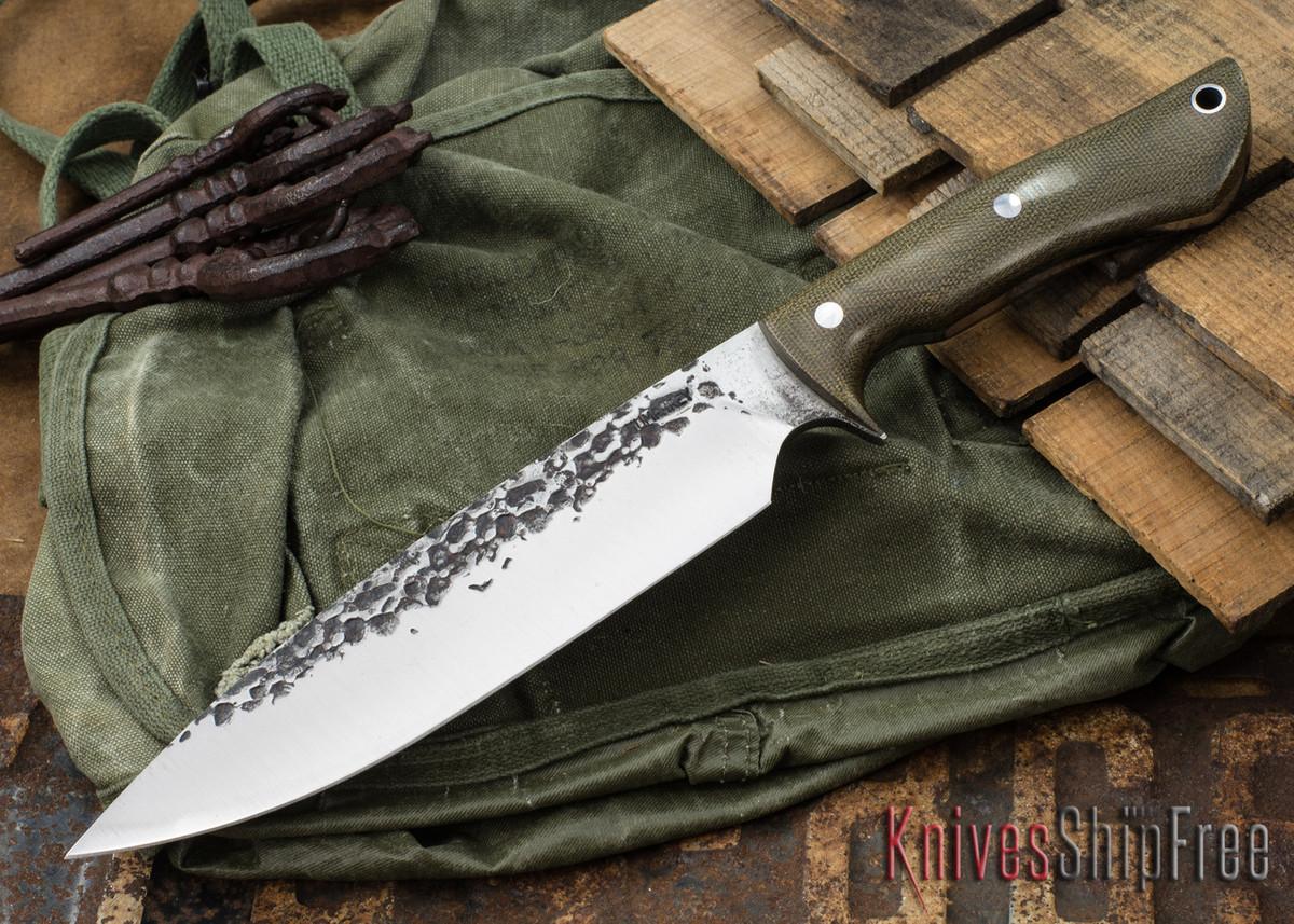 Lon Humphrey Knives: Ranger - Green Micarta - 072 primary image