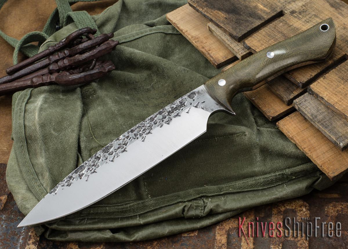 Lon Humphrey Knives: Ranger - Green Micarta - 076 primary image
