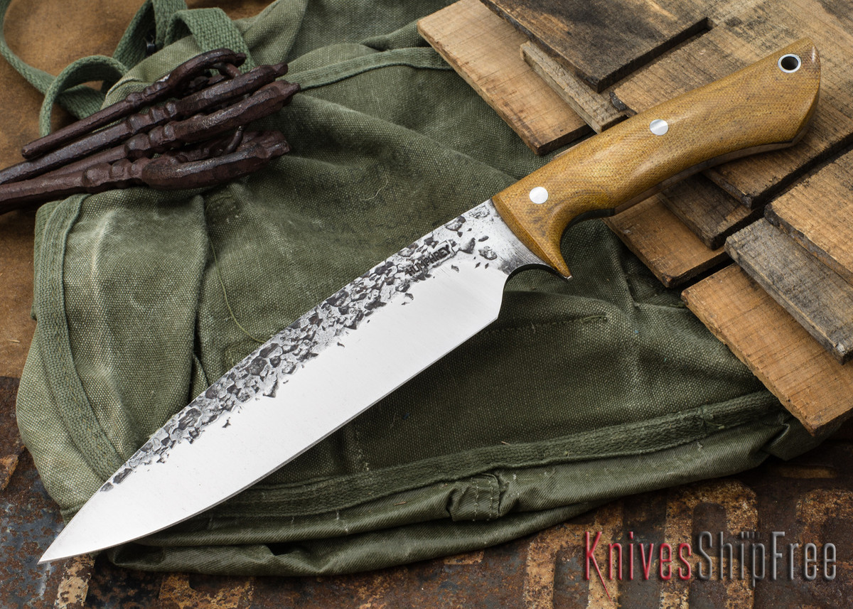 Lon Humphrey Knives: Ranger - Natural Micarta - 079 primary image