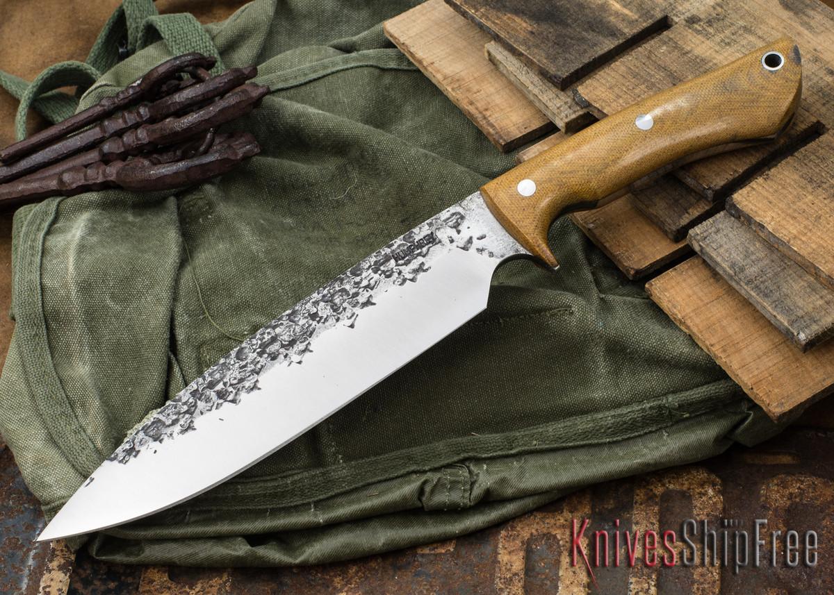 Lon Humphrey Knives: Ranger - Natural Micarta - 080 primary image