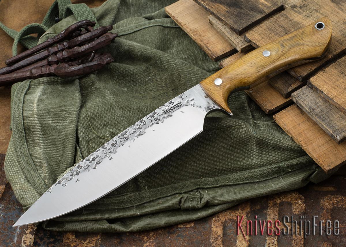 Lon Humphrey Knives: Ranger - Natural Micarta - 081 primary image