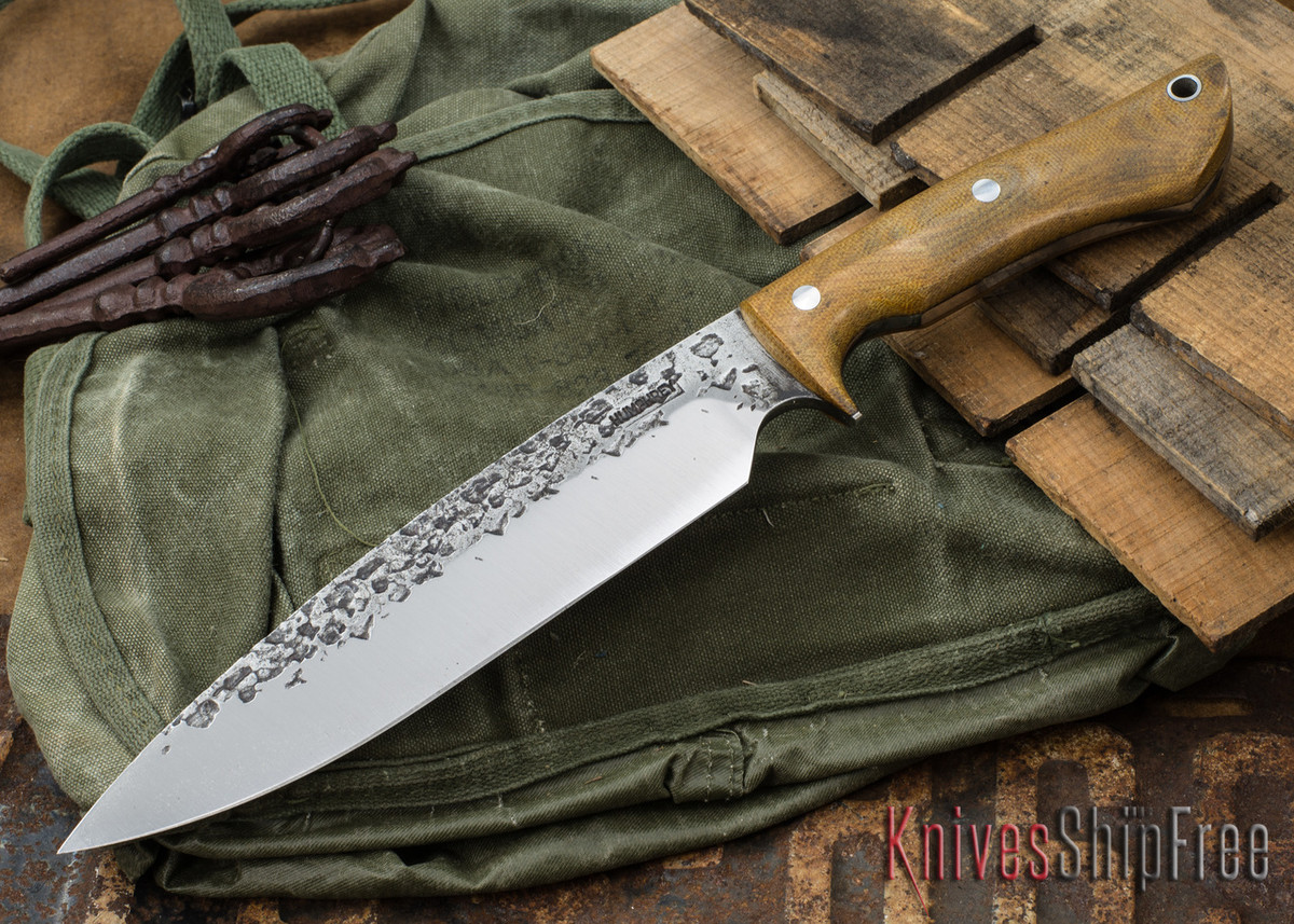 Lon Humphrey Knives: Ranger - Natural Micarta - 084 primary image