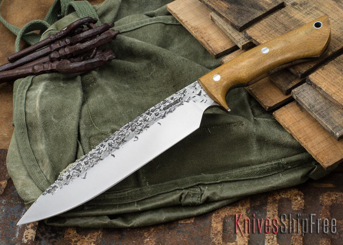 Lon Humphrey Knives: Ranger - Natural Micarta - 086 primary image