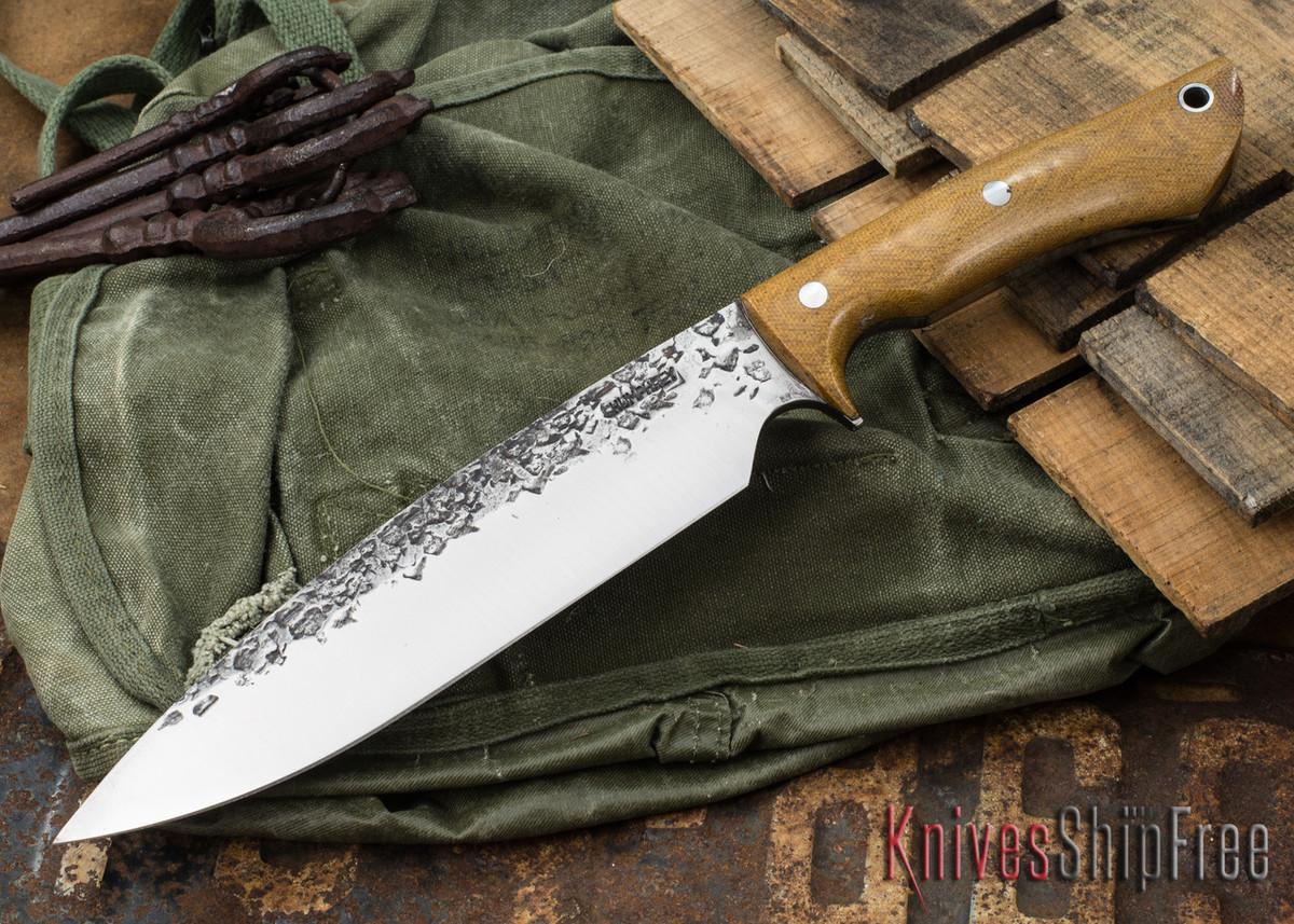 Lon Humphrey Knives: Ranger - Natural Micarta - 087 primary image