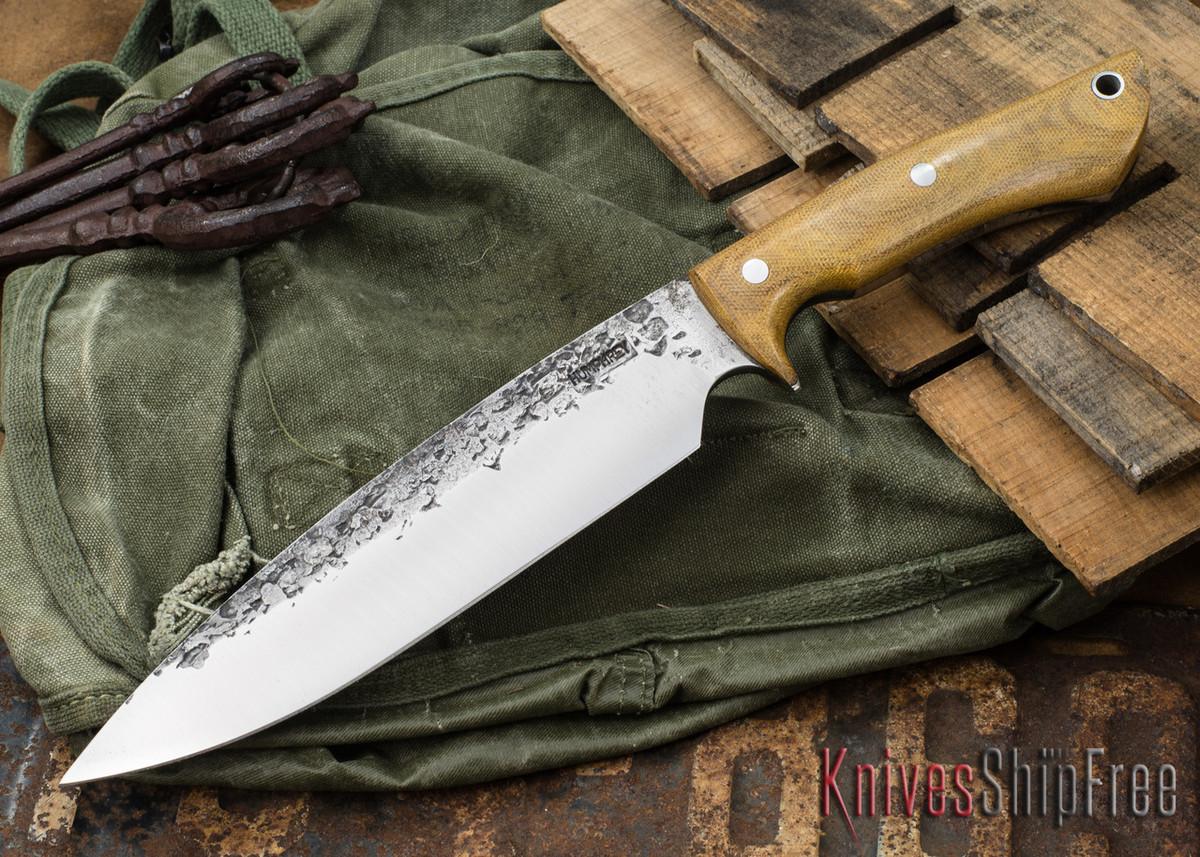 Lon Humphrey Knives: Ranger - Natural Micarta - 088 primary image
