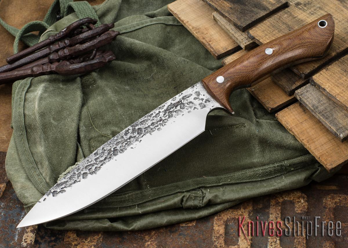 Lon Humphrey Knives: Ranger - Natural Micarta - 089 primary image