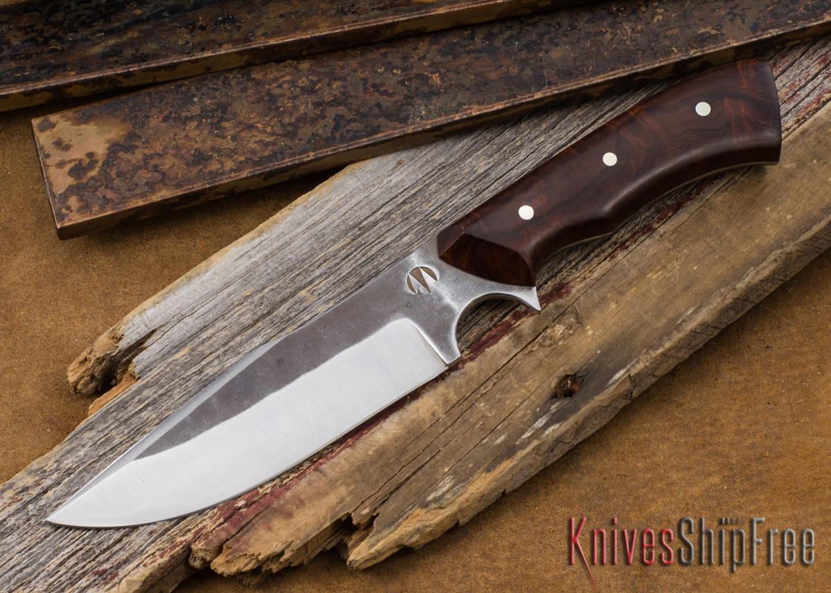 Carter Cutlery: Muteki #1468 Modified Aviator - Desert Ironwood - Laminated White Steel primary image