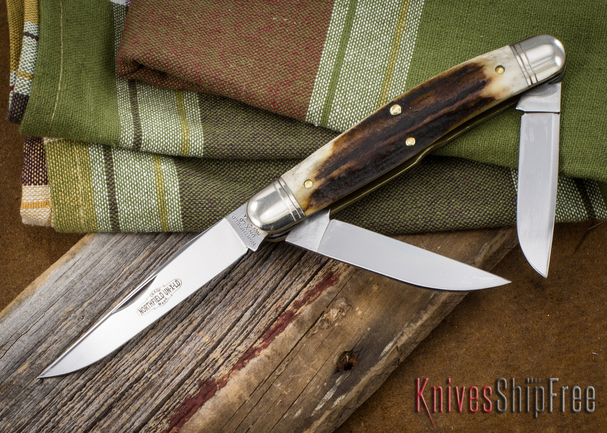 Great Eastern Cutlery: #82 Dixie Stockman - Sambar Stag 36 primary image