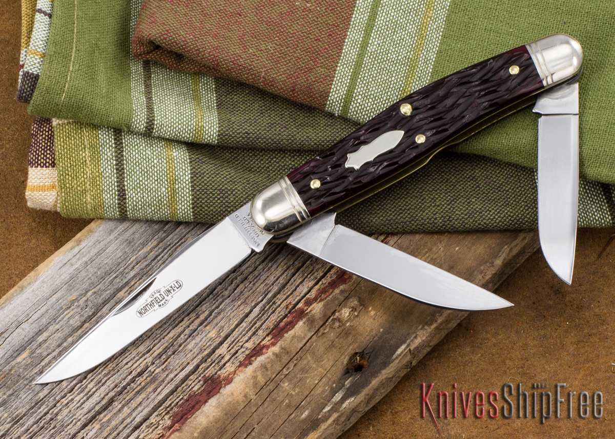 Great Eastern Cutlery: #82 Dixie Stockman - Elderberry Jigged Bone primary image