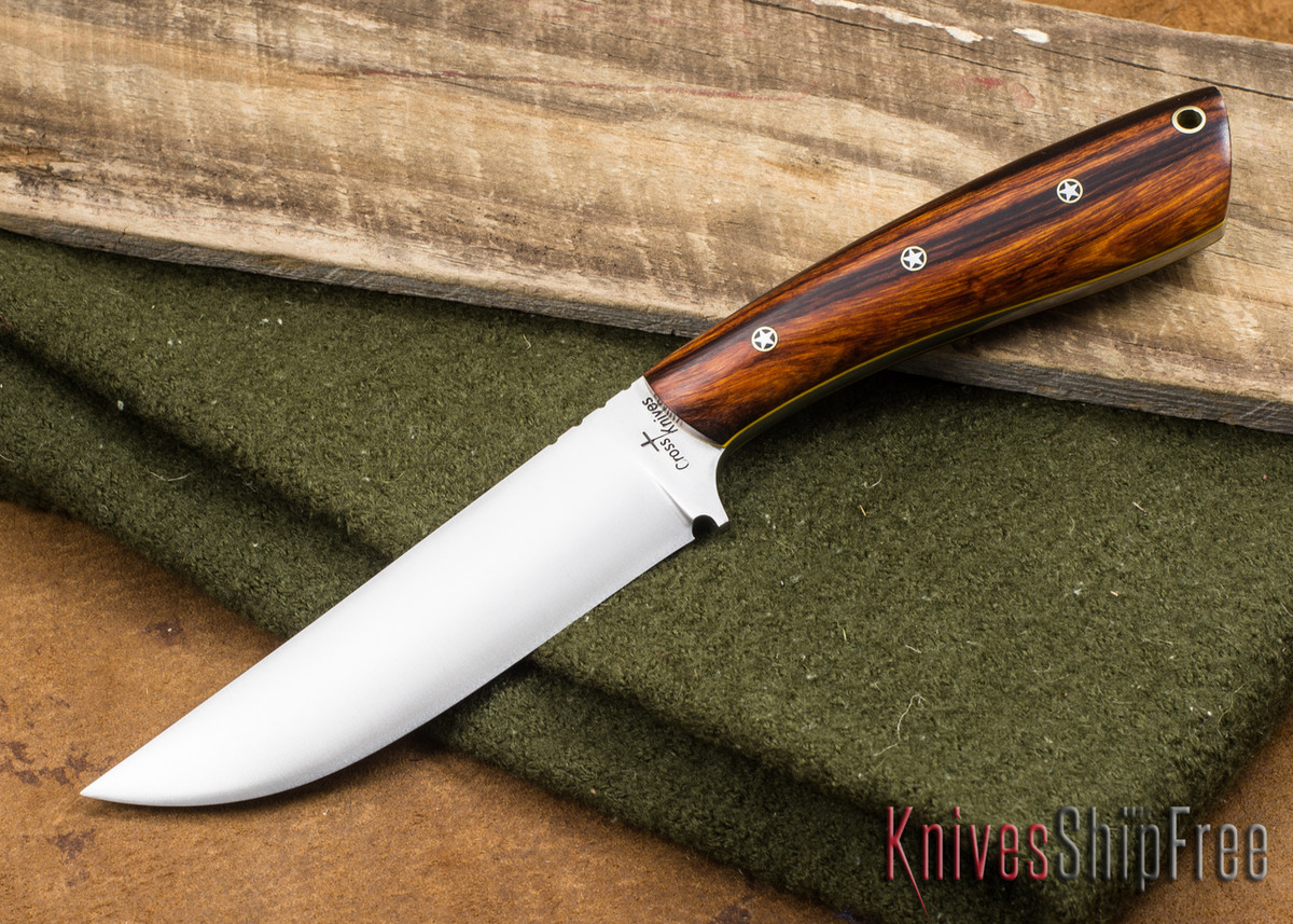 Cross Knives: All Round Hunter - Desert Ironwood - Texas Pins - Yellow Liners primary image