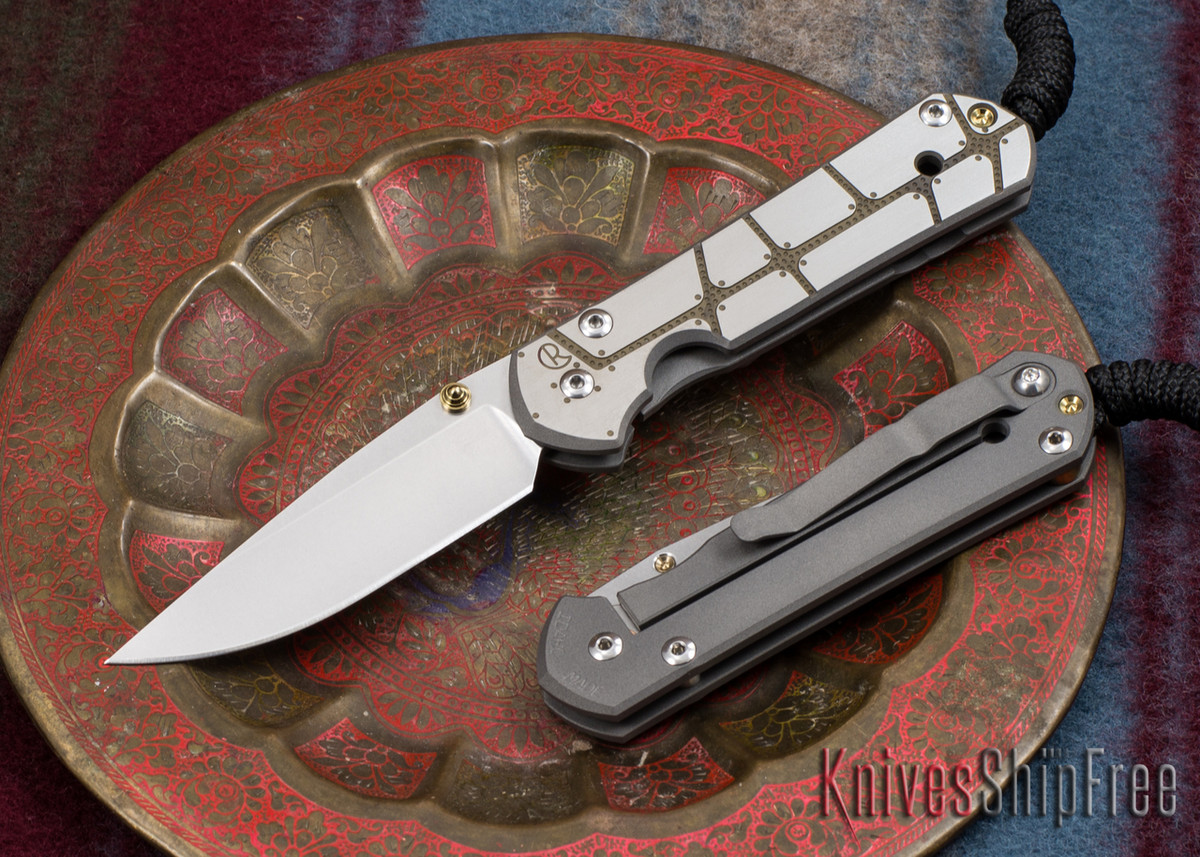 Chris Reeve Knives: Small Sebenza 21 - CGG Plated primary image
