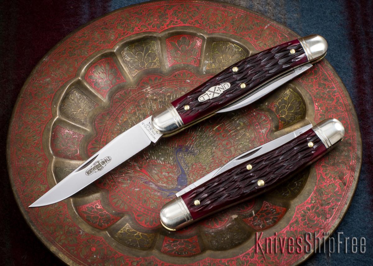 Great Eastern Cutlery: #82 Northfield UN-X-LD - Dixie Possum Skinner - Elderberry Jigged Bone primary image