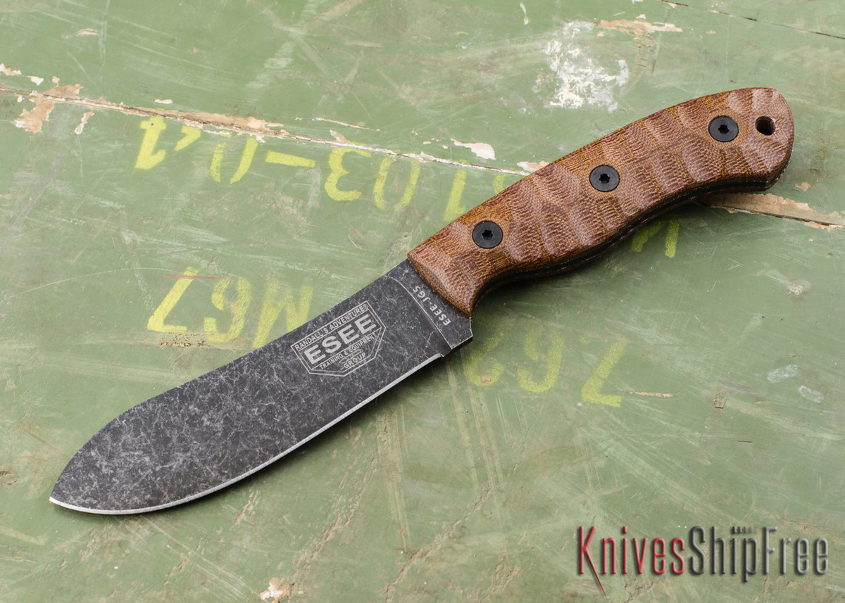 ESEE Knives: ESEE-JG5 - James Gibson Nessmuk primary image