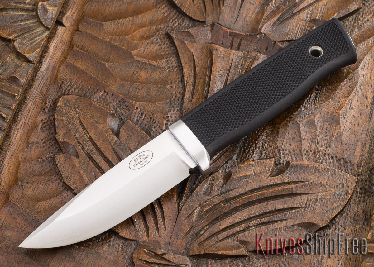 Fallkniven: F1 Pro - Swedish Military Survival Knife - CoS Steel - Zytel Sheath primary image