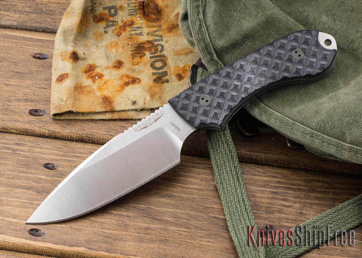 Bradford Knives: Guardian 4 - Black G-10 - N690 primary image