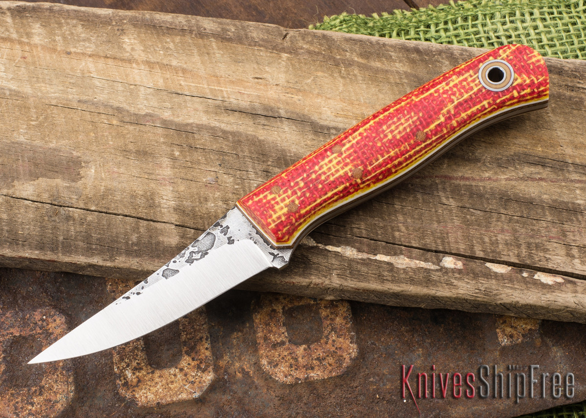 Fiddleback Forge: F2 - Red & Yellow Burlatex - Natural & White Liners - A2 primary image