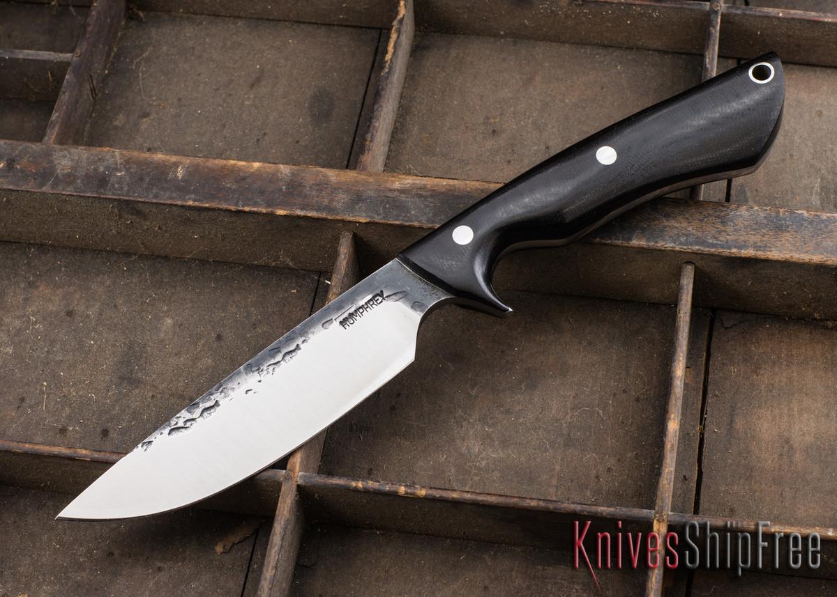 Lon Humphrey Knives: Bridger - Black Micarta - 020801 primary image