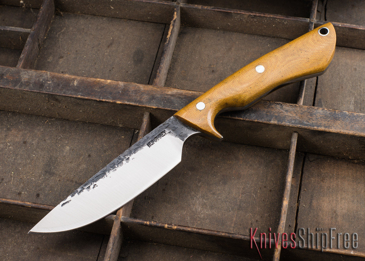 Lon Humphrey Knives: Bridger - Natural Micarta - 020807 primary image