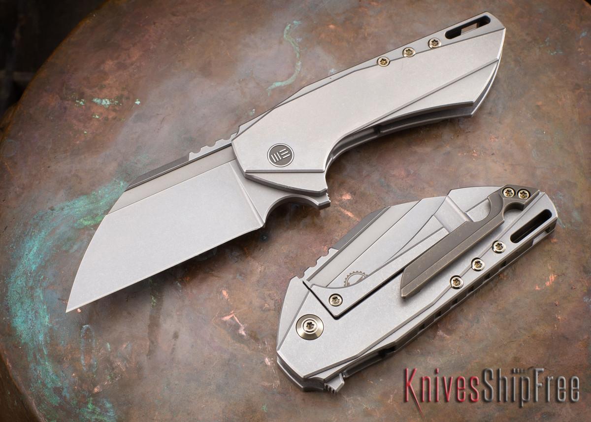 WE Knife: 802 Roxi - Grey Titanium Framelock - M390 primary image