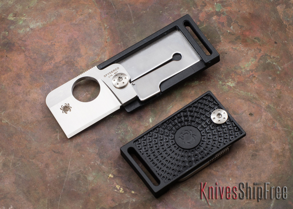 Spyderco: Squarehead - Black FRN - CTS-BD1 - C193PBK primary image