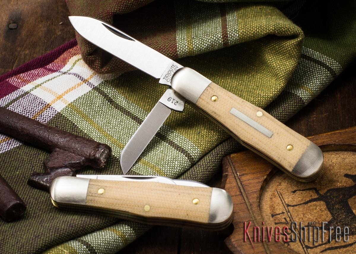 Great Eastern Cutlery: #06 Tidioute - Pemberton 2-Blade - Muslin Micarta primary image