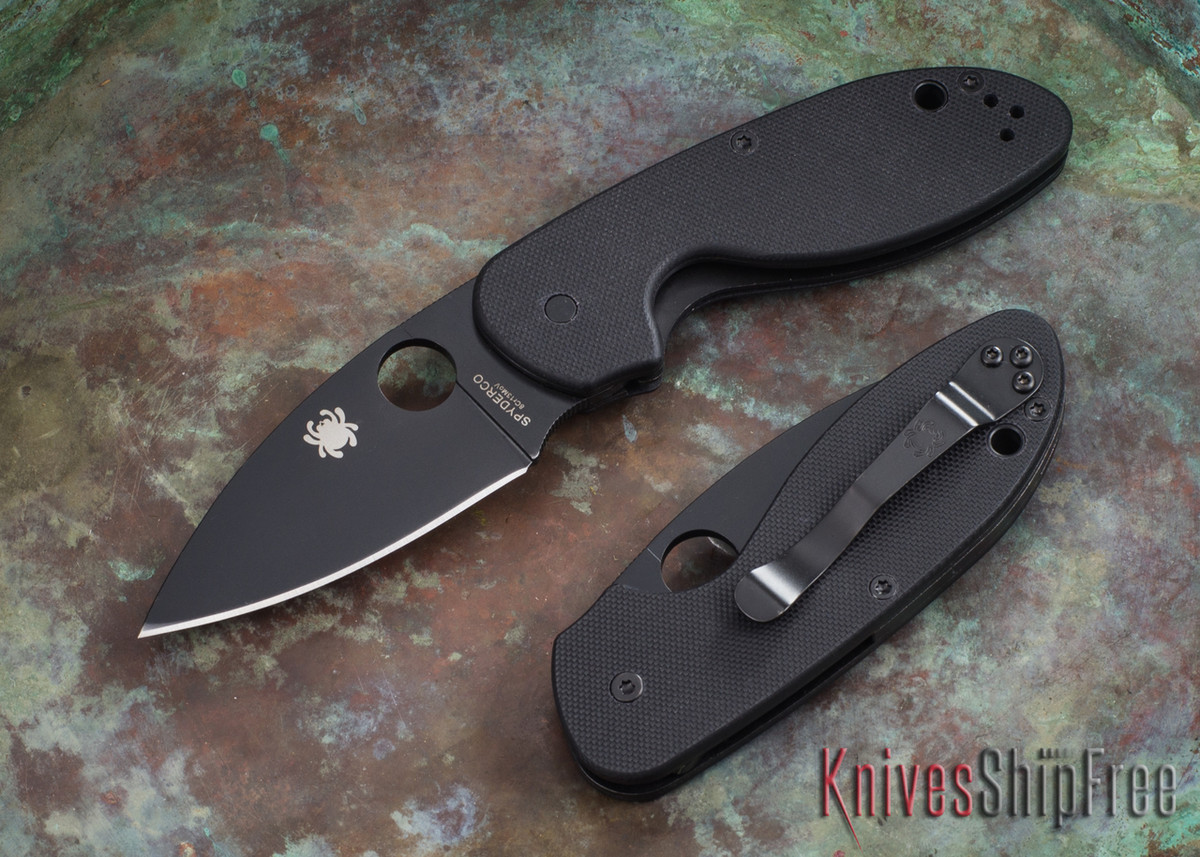 Spyderco: Efficient - Black Blade - Black G-10 - C216GPBBK