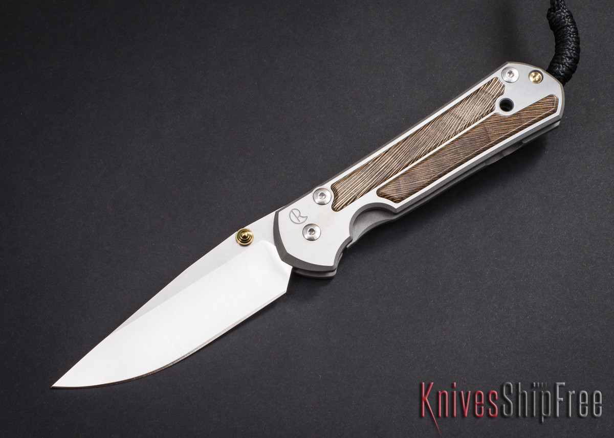 Chris Reeve Knives: Large Sebenza 21 - Striped Platan - 030601 primary image