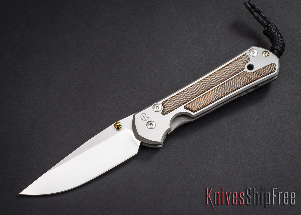Chris Reeve Knives: Large Sebenza 21 - Striped Platan - 030603 primary image