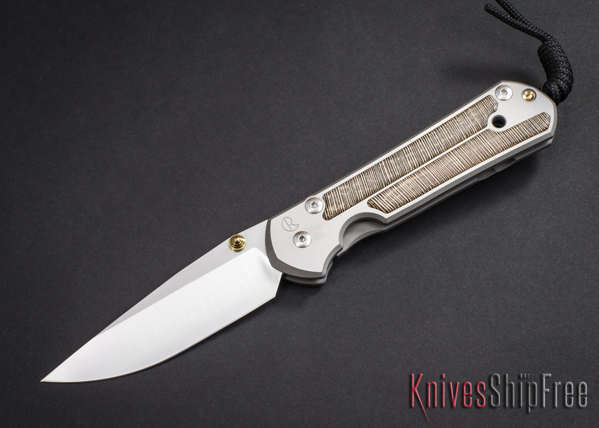 Chris Reeve Knives: Large Sebenza 21 - Striped Platan - 030605 primary image