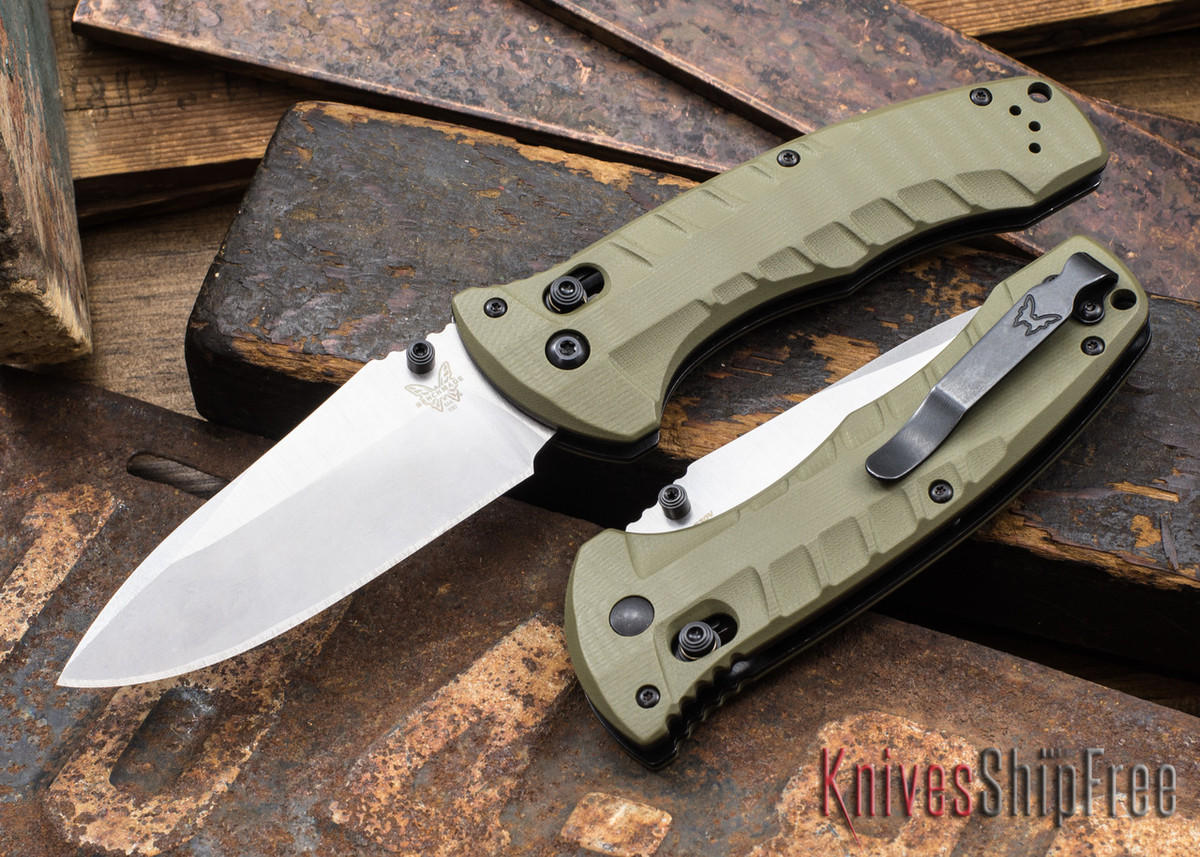 Benchmade Knives: 980 Turret - OD Green G-10 - CPM-S30V primary image