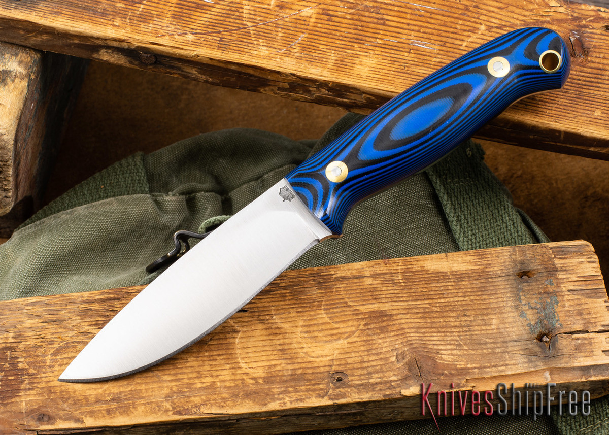 L.T. Wright Knives: Rogue River - Blue & Black G-10 - A2 Steel primary image