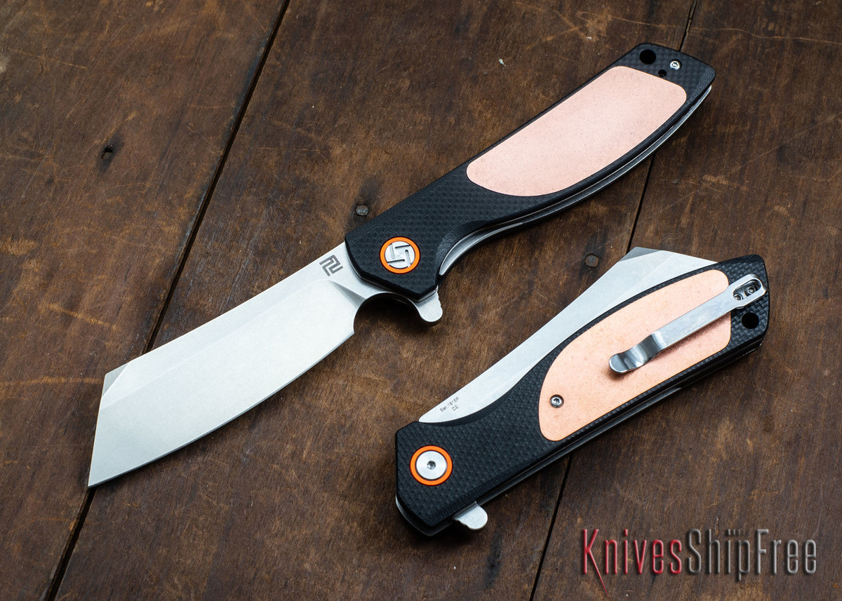 Artisan Cutlery: Tomahawk - Limited Edition Copper & G-10 - 1815P-CG2 primary image